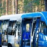 Городской автобус с низкой посадкой